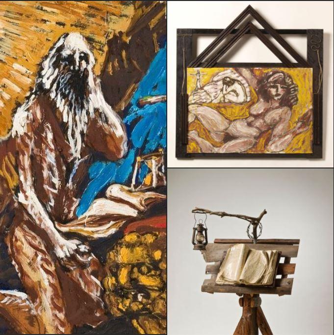 Værker fra udstillingen Vi er alle eremitter