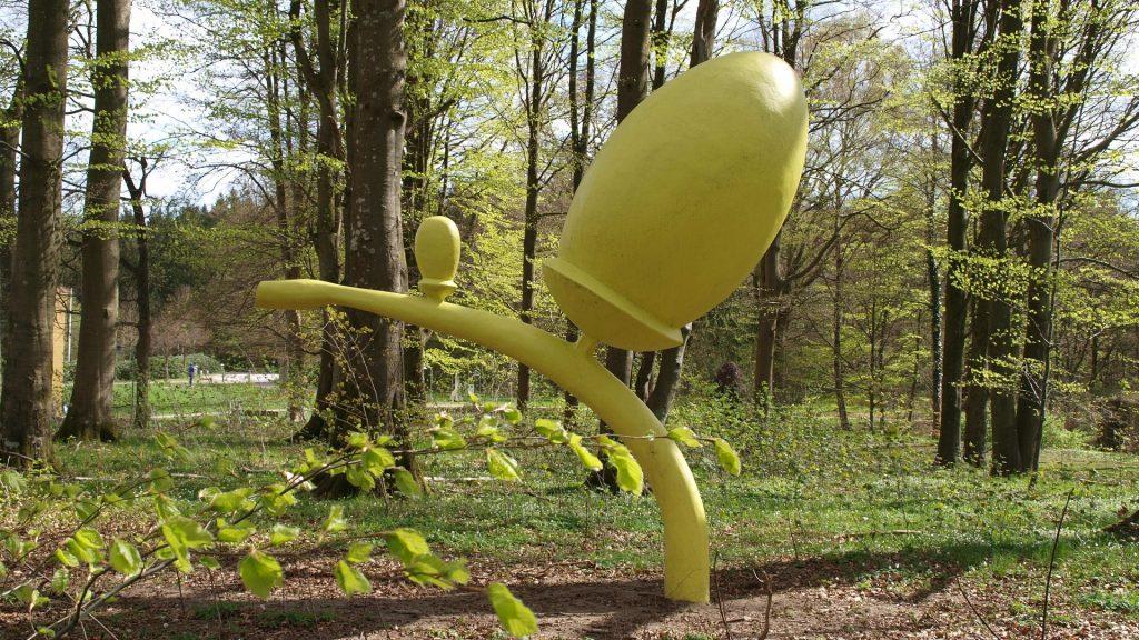 Kæmpe agern i Skulpturparken